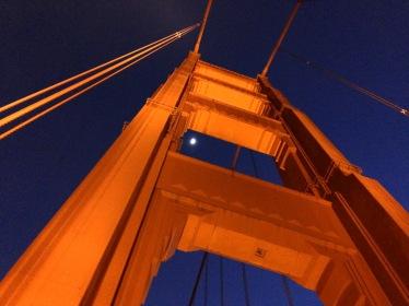 Framing the moon